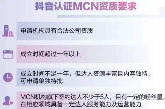 抖音mcn机构排行榜榜单公布,附最新抖音mcn机构申请条件