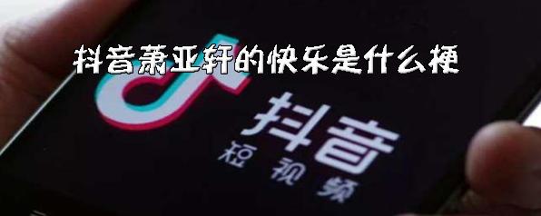 抖音萧亚轩的快乐是什么意思?是什么梗?它的出处