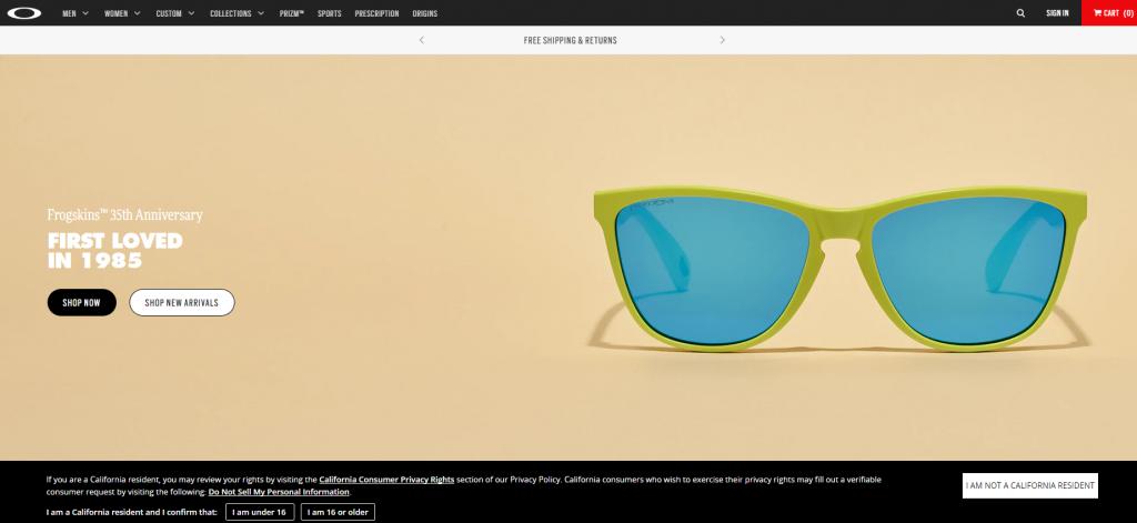 欧克利Oakley眼睛官网 美国运动用品品牌