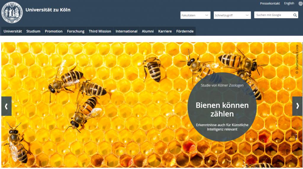 德国科隆大学官网 Universität zu Köln