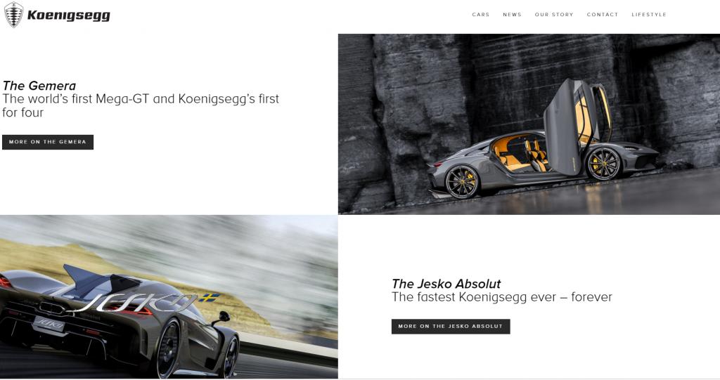柯尼塞格Koenigsegg官网 超级跑车的制造厂