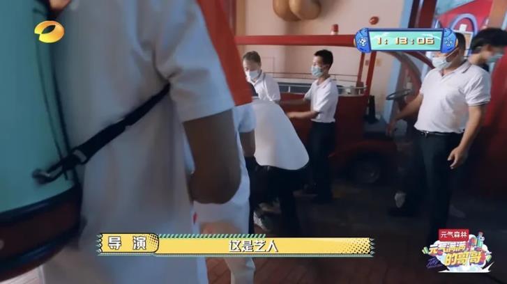 吴奇隆被保安当成坏人按倒:导演大喊快放开那是艺人