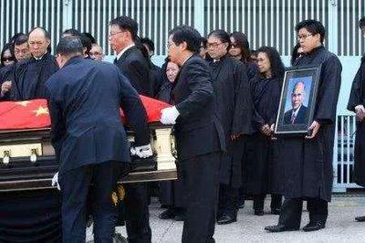 霍英冬为什么享受国葬,因为他是一个懂得付出懂得牺牲的人