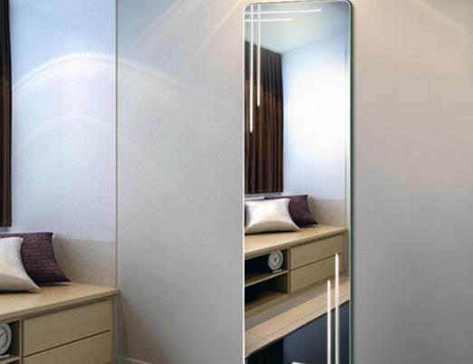 120cm镜子离地面多高能照到全身?镜子贴高了会显高吗?