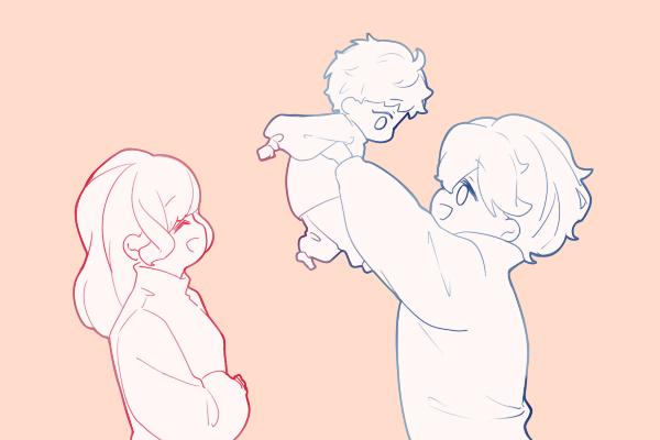 爸爸偷喝给娃的母乳被老婆抓现行 这也太尴尬了