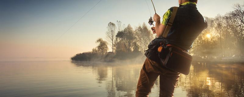水太深钓不到底怎么钓鱼,钓底好还是钓浮好