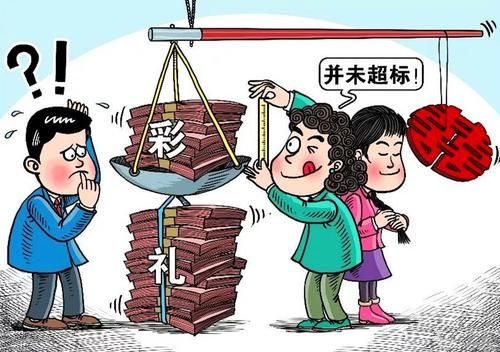 北京彩礼都有什么讲究