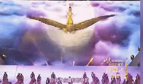 金鹰女神出场方式,从天而降或破钻而出!
