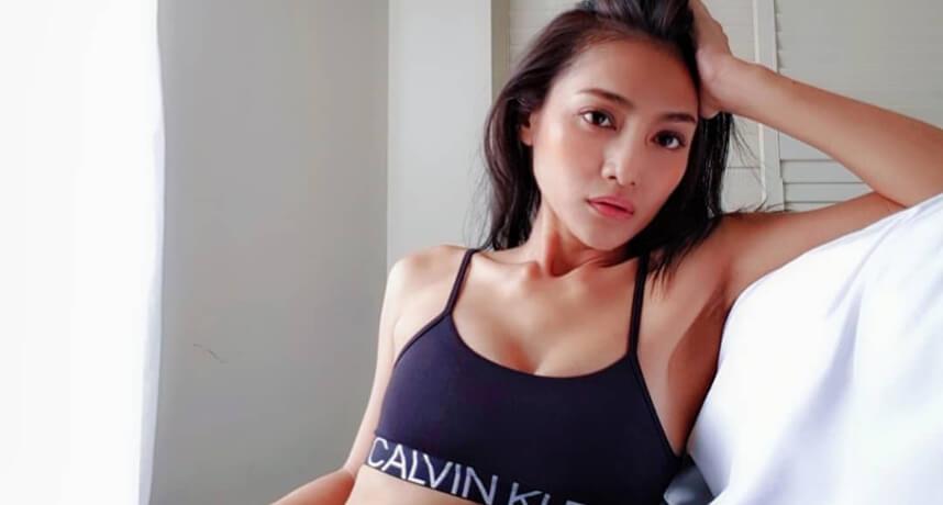 叶玮庭怀孕4个月中空装性感上街 穿得漂亮最重要